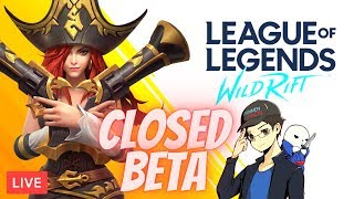 9/25 🔴 HAPPY FRIDAY! LETS KEEP LEARNING THE BASICS OF THIS GAME! | LoL Wild Rift Closed BETA