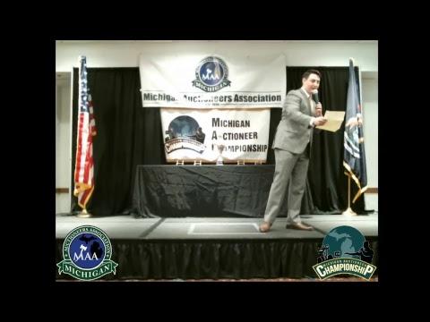 2018 Michigan Auctioneers Association - Michigan Auctioneer Championship