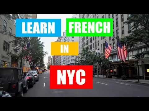 Learn French in New York # Part 1