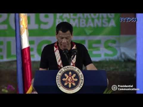 Opening Ceremonies of the 2019 Palarong Pambansa (Speech) 4/28/2019