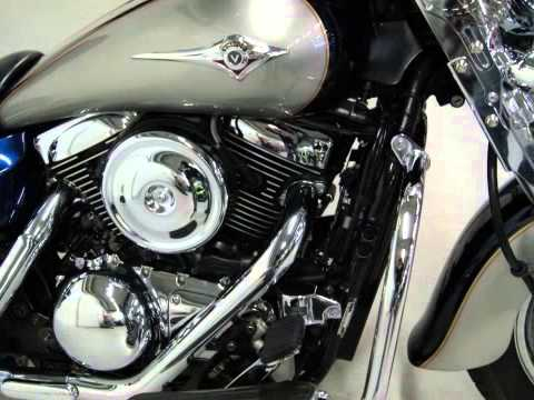 kawasaki vn 1600 classic tourer youtube. Black Bedroom Furniture Sets. Home Design Ideas