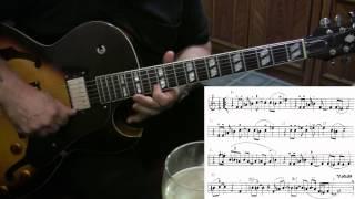 Music written by nat adderley - improvisation guitar epiphone es175 & tracks aebersold