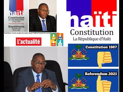 FLASH HAITI KA TONBE SOU TUTELLE SI PA CHANJE CONSTITUTION 1987/DR NAU BAY TOUT VERITE SE URGENT