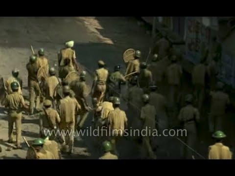 babri-masjid,-ayodhya---archival-footage-of-6-december-1992