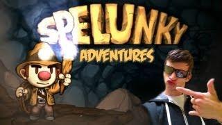 MARIO & DARK SOULS HAVE A BABY!! - Spelunky Adventures w/Ghost