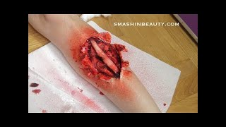Broken Leg Special Effects Halloween Makeup Tutorial 2019