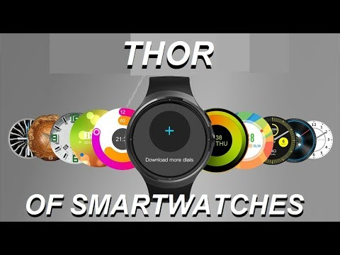 Zeblaze Thor 3G Smartwatch Review and Unboxing