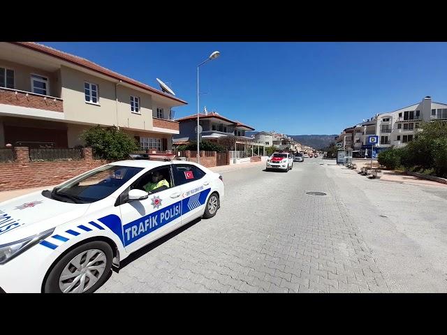 Marmaris İlçe Emniyet Müdürlüğüne Bağlı Ekipler'den Kadına Şiddete Hayır Korteji