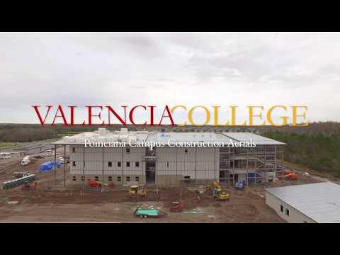 Poinciana Campus Construction Flyover - 1/27/17 - FULL - Valencia College
