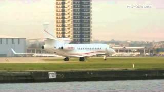 dassault falcon 7x private london england london city airport lcy eglc id16862