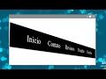 Como criar menu em HTML e CSS Parte 2