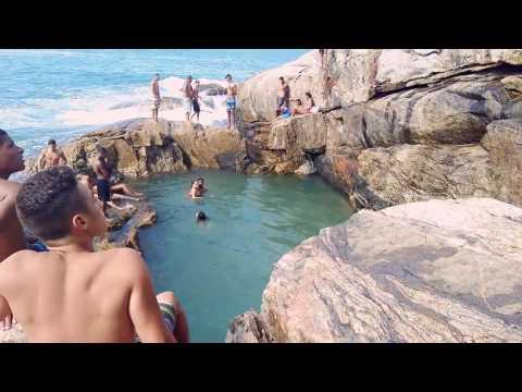 Guarujá-SP piscina natural