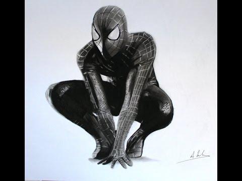 Comment dessiner spiderman dessiner spider man aymeric bordone youtube - Dessiner spiderman ...