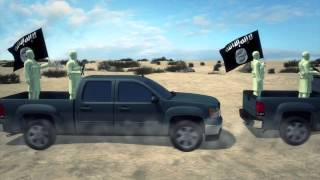 Isis War In Syria: Us To Arm Rebels With Pickups Fitted With Machine Guns And Gps