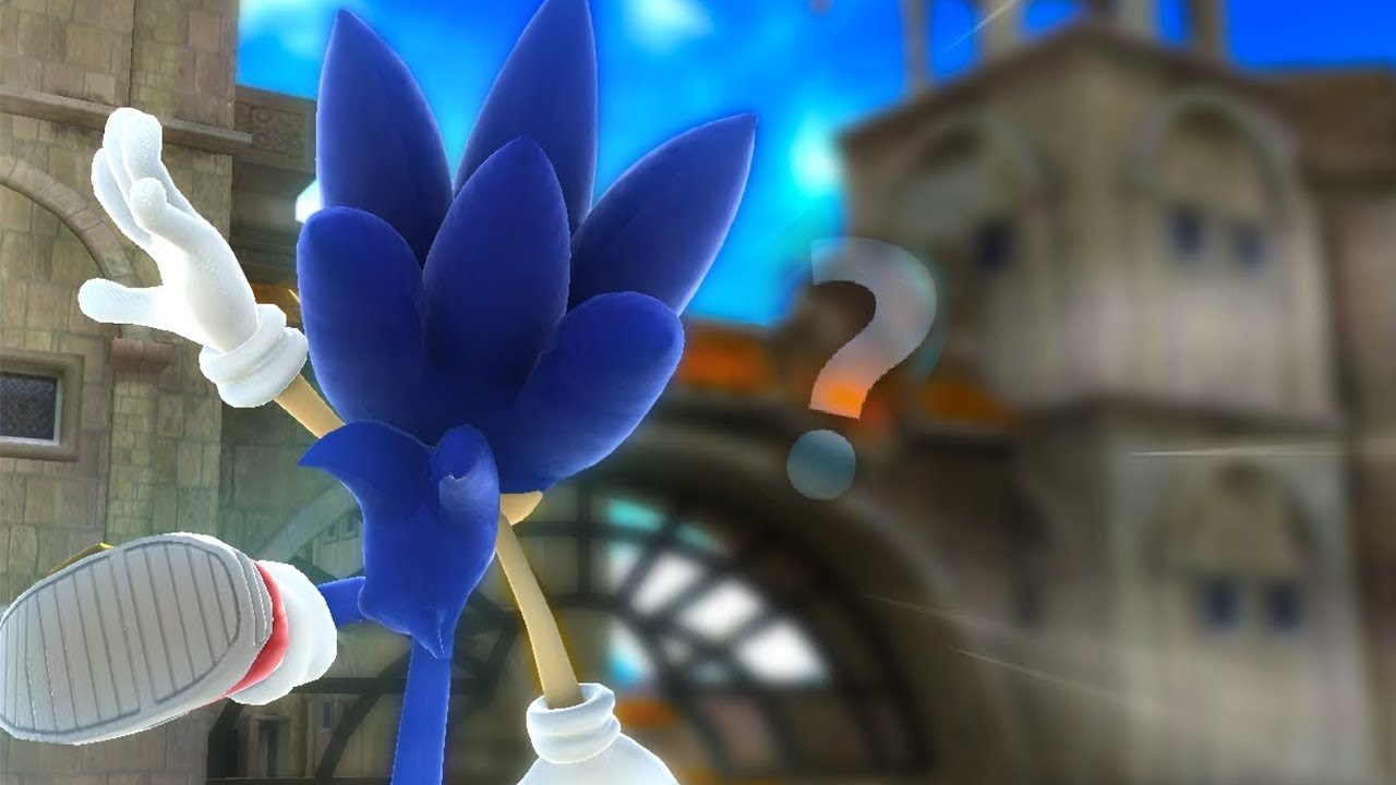 Sonic Generations, but you can Wall Jump everywhere