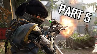 Call of Duty Black Ops 3 Walkthrough Part 5 - Brain Drain (Let's Play Gameplay Commentary)