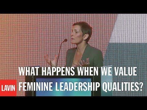 Leadership Speaker Maureen Chiquet: What Happens When We Value Feminine Leadership Qualities?