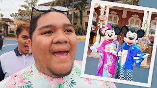FIRST TIME KONG MAKITA SI MICKEY MOUSE (FEELING BAGETS!!!) | LC VLOGS #184