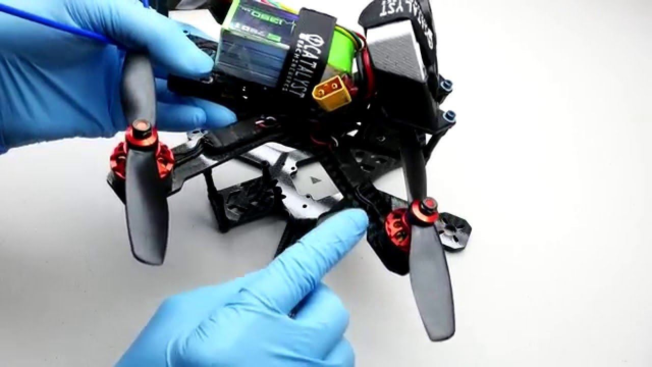 Fpv Racing Quad Assembly And Electronics Installation Tutorial Quadcopter Wiring Instructions Speed Addict 210 R 180 Youtube