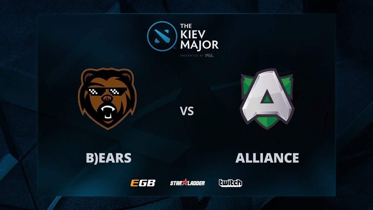 B)ears vs Alliance, Game 1, The Kiev Major EU Main Qualifiers Play-off