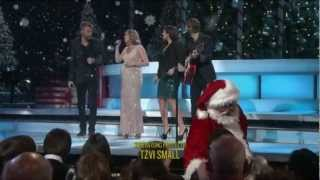 Lady Antebellum & Jennifer Nettles - -Let it Snow, Let it Snow, Let It Snow- ((CMA 2012)) -