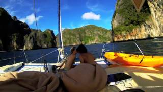 Sailing Thailand on Catamaran Nakamal