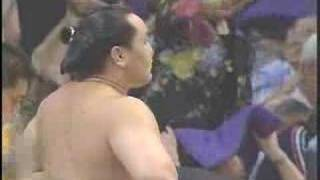 (Sumo) Asashoryu vs Kotonowaka   2004 Nagoya Basyo Day 8