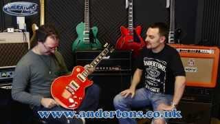 Slash Special!! Vermillion Les Paul & Marshall Ltd Ed AFD100