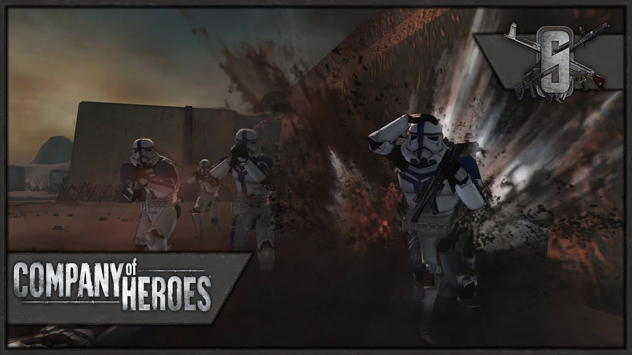 Star Wars Battle For Tatooine Company Of Heroes Frontlines Mod Youtube
