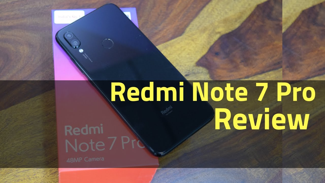 Xiaomi Redmi Note 7 Pro Full Review with Unboxing