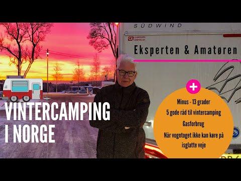 Eksperten & Amatøren på vintercamping i Norge 2019