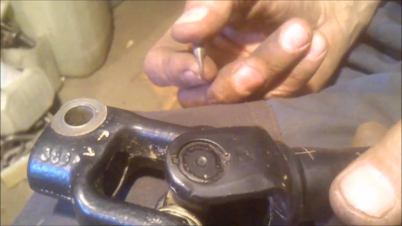 УАЗ Патриот  Модернизация рулевого карданчика