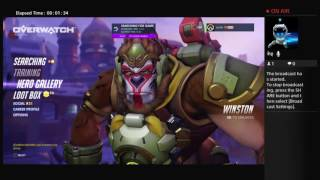 Overwatch season 4 #Live #PS4LIVE #PLAYSTATION