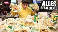 ALLES bestellen bei SUBWAY !!! 😂