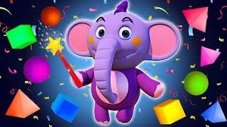 Kent impara forme e colori con il giocattolo cubo magico