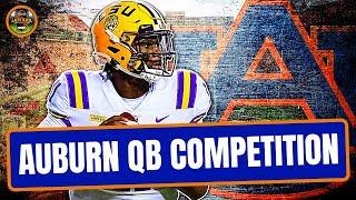 Auburn's New QB Battle: Bo Nix Vs TJ Finley (Late Kick Cut)