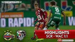Highlights: Tipico Bundesliga, 11. Runde: SK Rapid Wien - Wolfsberger AC 1:1