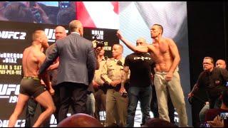 UFC 196: Conor McGregor vs. Nate Diaz Weigh-In + Staredown