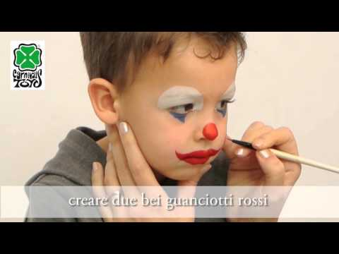 TUTORIAL TRUCCO AD ACQUA CLOWN (ART. 7390)
