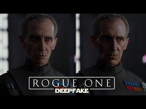 Deepfaking Tarkin & Leia in Rogue One: A Star Wars Story [4K]