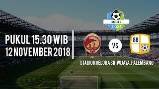 Jadwal Pertandingan Sriwijaya FC Vs Barito Putera, Senin (12/11/2018) Pukul 18.30 WIB