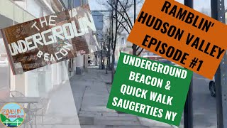 Beacon & Saugerties New York ( NY )  - Visiting Main Streets with Ramblin' Hudson Valley Episode 1