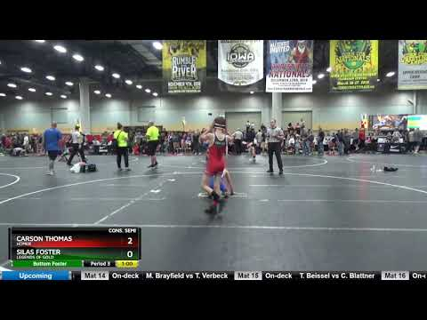 Big Grade 5 And 6 90 Carson Thomas Homer Vs Silas Foster Legends Of Gold