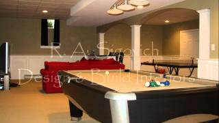 R. A. Sigovich Design & Build Interiors~finished Basements & Remodeling