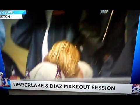 Cameron Diaz & Justin Timberlake Makeout Session