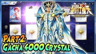 PART 2: 4000 CRYSTAL GACHA GOD CLOTH SEIYA + PVP - Saint Seiya Awakening