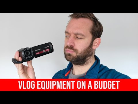 How To Vlog on a Budget | Best Equipment
