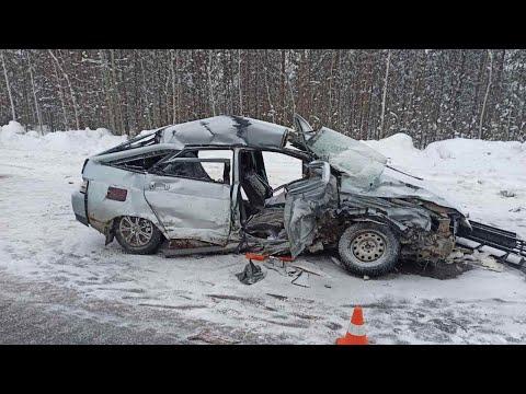 Трагедия на автодороге Сургут - Лянтор