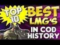 """BEST LMG's"" In Cod History (Top Ten - Top 10) Call of Duty Breakdown | Chaos"
