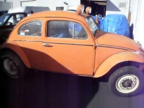 Found In Desert Abandoned - 1963 Baja - Orange - FREEBY! - YouTube